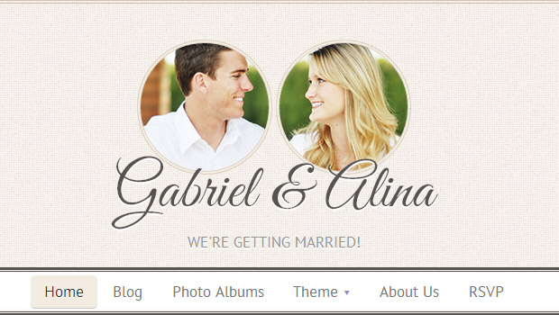 Vintage - Responsive Wedding Theme