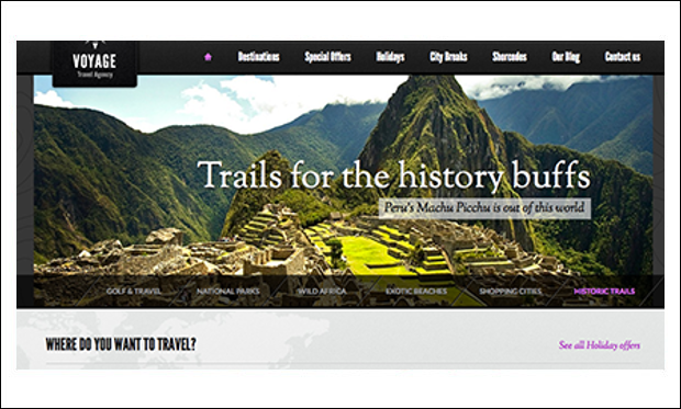 Voyage - WordPress Responsive Themes for Tourism Websites