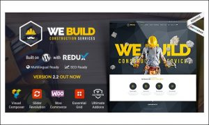 We Build - WordPress Themes for Construction Companies