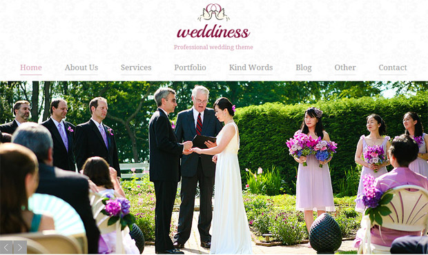Weddiness - Responsive Wedding Theme