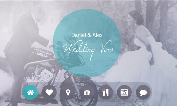 Wedding Vow - Responsive Wedding Theme