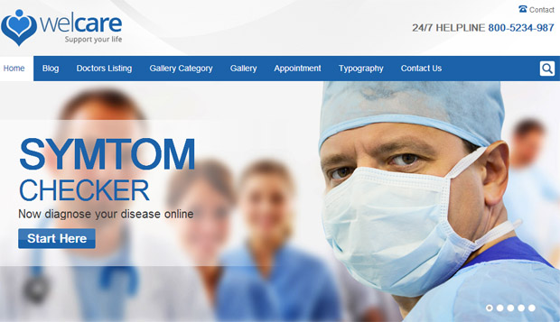 WelCare - Responsive Medical WordPress Theme