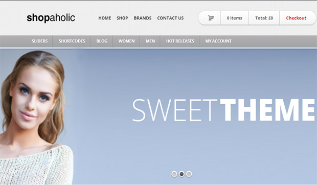 WordPress Responsive Theme for Clothing Stores