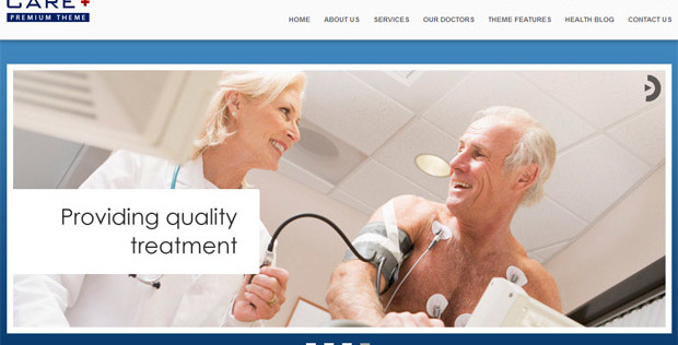 5+ Professional and Responsive Medical Doctors WordPress Themes
