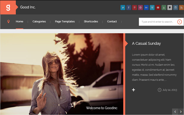 WordPress Responsive Theme for News Websites