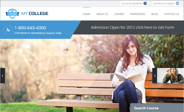 WordPress Theme for Responsive Educational Blogs