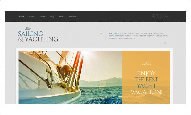 Yachting - Beachy WordPress Themes