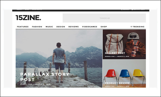 15Zine - WordPress Themes for NewsPaper Sites