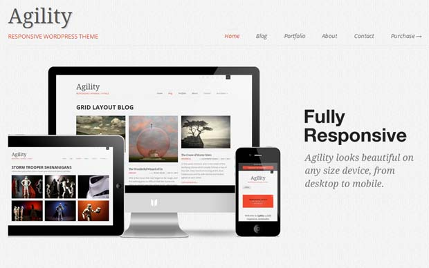 Agility - Responsive HTML5 WordPress Theme