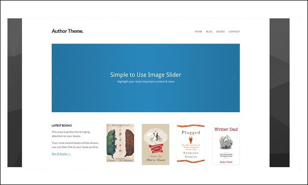 Author Theme - Book Author WordPress Themes