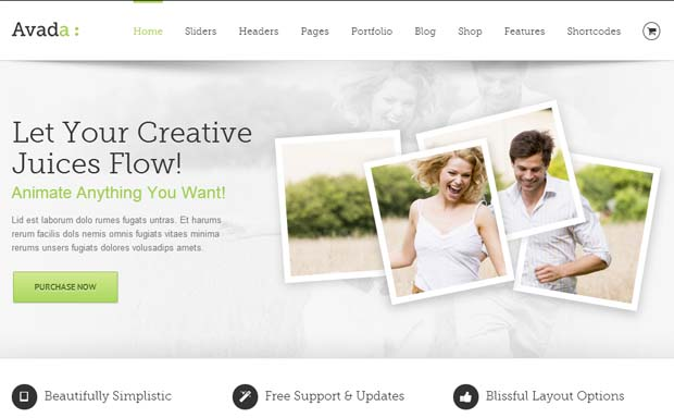 Avada - Responsive HTML5 WordPress Theme
