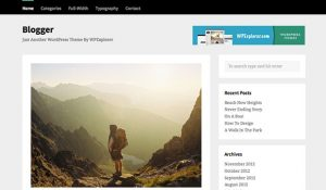 Blogger - Responsive WP Themes
