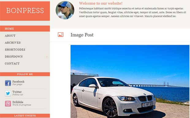 BonPress - Free Responsive WordPress Theme