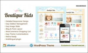 Boutique Kids - Boutique WordPress Themes