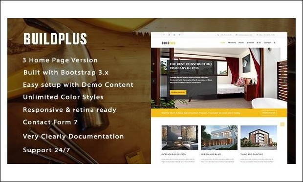 BuildPlus - Home Builder WordPress Themes