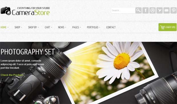 Camy - Responsive eCommerce WordPress Theme