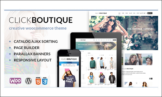 Click Boutique - Boutique WordPress Themes