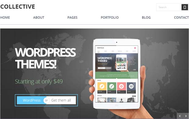 Collective - Responsive SEO Friendly WordPress Theme