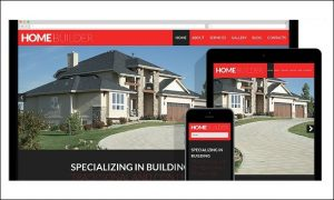 Construction Company - Home Builder WordPress Themes