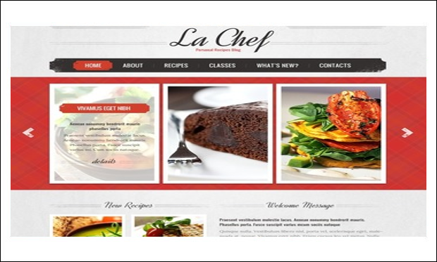 Cooking - Cooking Recipe WordPress Themes