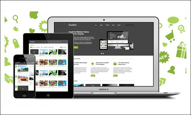 Creativio - Advertising Portfolio WordPress Themes