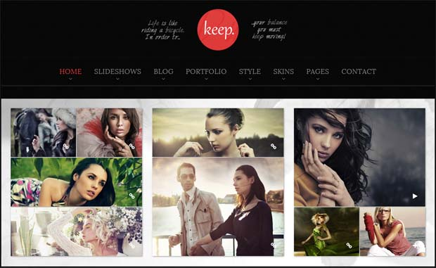 Duotive Keep - Responsive SEO Friendly WordPress Theme