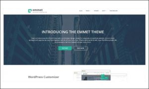 Emmet - Graphic Designer WordPress Themes