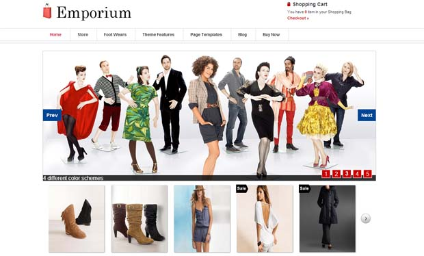 Emporium - Responsive eCommerce WordPress Theme