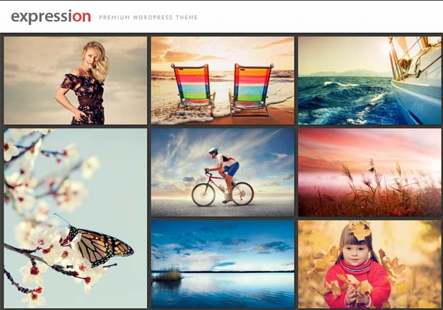 Expression - Responsive Photography WordPress Theme