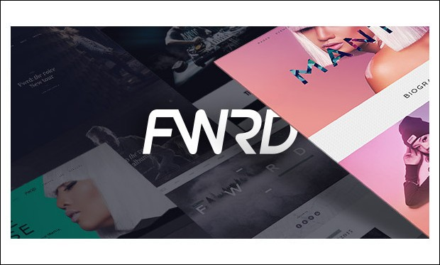 FWRD - Musicians WordPress Themes