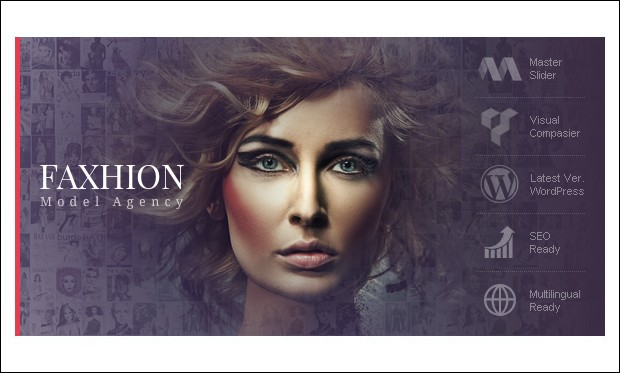 Faxhion - Fashion Model Agency WordPress Themes