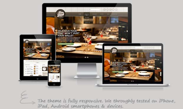 Fine Food - Food Recipe WordPress Theme