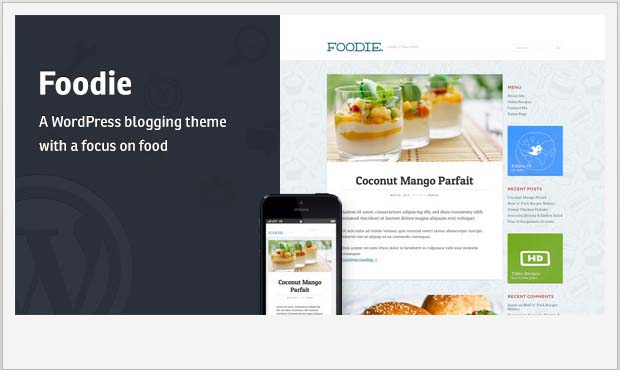 Foodie - Food Recipe WordPress Theme