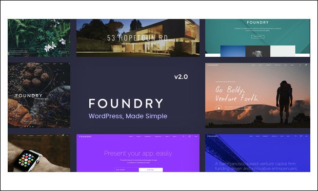 Foundry - Marketing Agency WordPress Themes