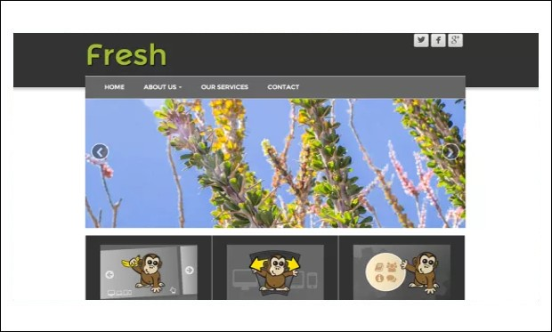 Fresh Lite - Responsive WP Themes