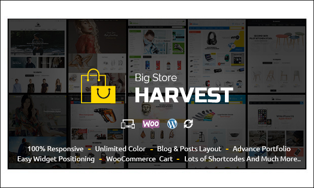 Harvest - WordPress Themes for Cloth Stores