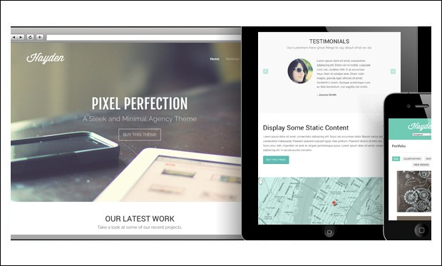 Hayden - Architecture Portfolio WordPress Theme