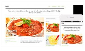 ICOOK - Cooking Recipe WordPress Themes