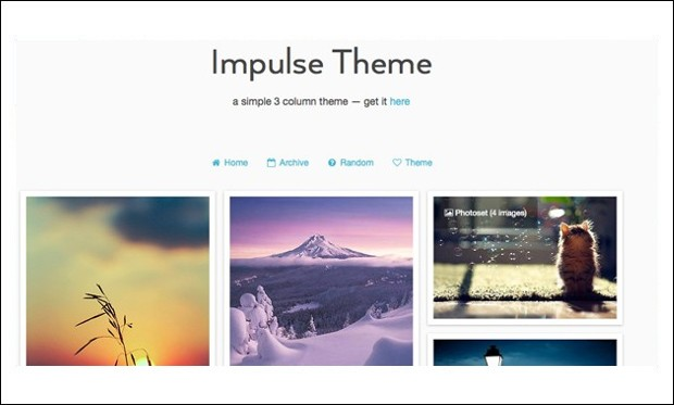 Impulse - Tumblr WordPress Themes
