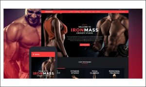 IronMass - Fitness and Gym WordPress Themes