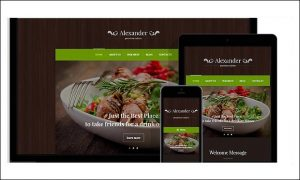 Italian Restaurant - Bootstrap based WordPress Themes