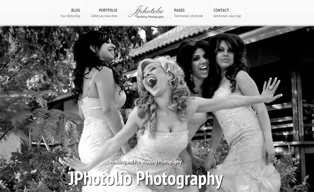 JPhotolio - Responsive Photography WordPress Theme