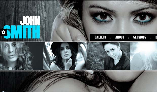 John Smith - Responsive Full Screen WordPress Theme