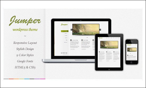 Jumper - Graphic Designer WordPress Themes