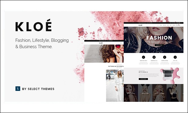 Kloe - Fashion Model Agency WordPress Themes