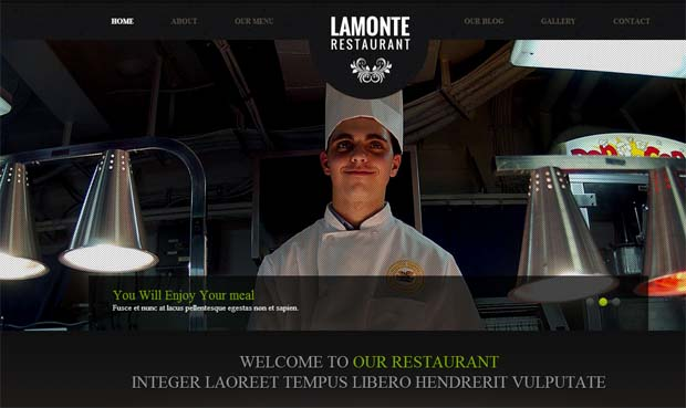 Lamonte - Food Recipe WordPress Theme