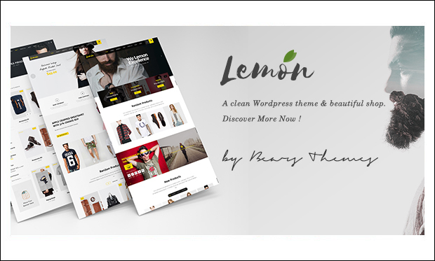 Lemon - WordPress Themes for eCommerce Sites