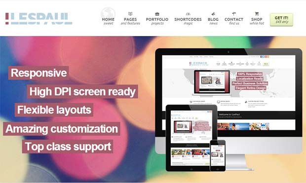 !Les Paul - Responsive SEO Friendly WordPress Theme