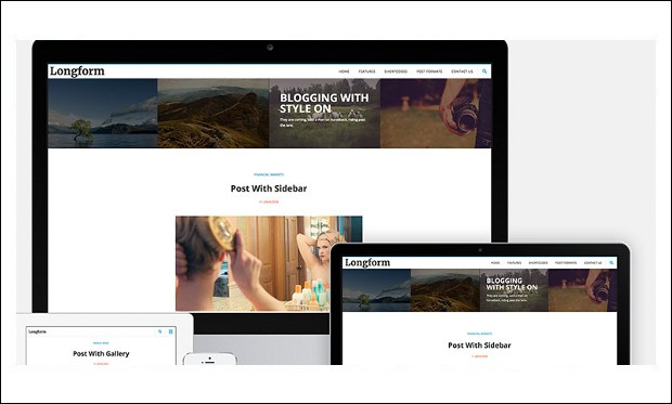 Longform - Responsive WP Themes