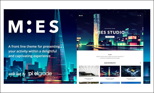 MIES - Architecture Portfolio WordPress Theme